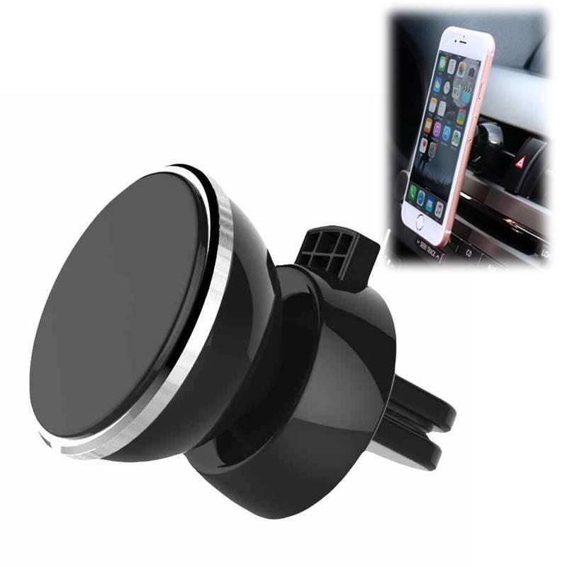 support t l phone voiture magn tique grille d 39 a ration natel digiac. Black Bedroom Furniture Sets. Home Design Ideas