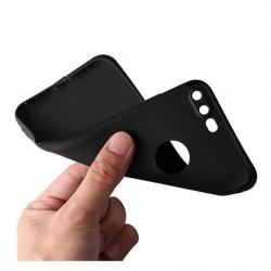 iPhone 7 plus-coque souple mate ultra fine protection caméra-noir
