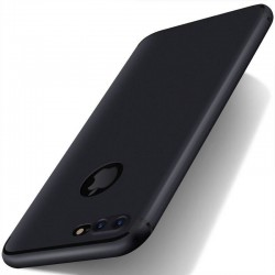 iPhone 7 plus-coque souple mate ultra fine protection caméra-noir