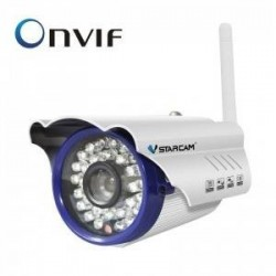 "Surveillance 1mégapixels Wireless Wifi IP Outdoor CCTV Security Camera Waterproof 1/4"" CMOS sensor"