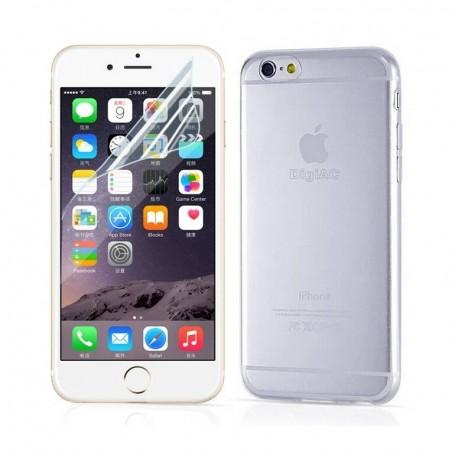 iPhone 6 - kit Coque transparen+Film écran
