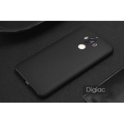 Huawei Mate 9 -coque souple mate ultra fine avec la protection caméra-noir