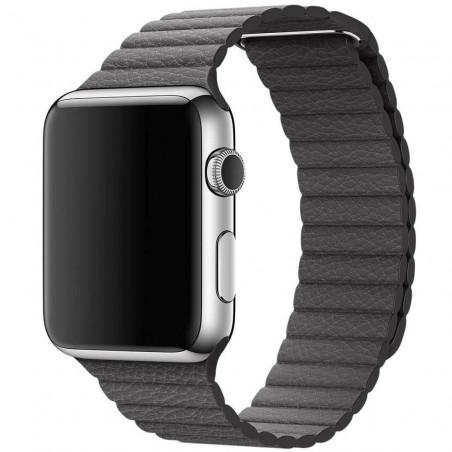 Apple Watch 42mm - Bracelet Magnétique en Cuir