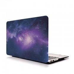 """MacBook 13"""" - Coque mate univers étoile devant et derrière"""