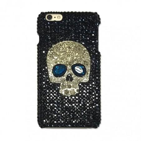 iPhone 7 / 7 plus - Coque crâne strass