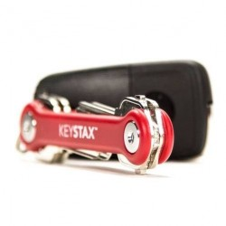 KeyStax Porte-CLé 8 clés max - rouge