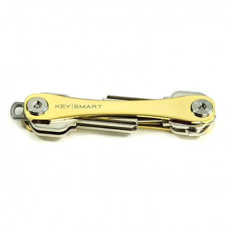 Keysmart Extended Porte Clé avec un emballage cadeau (2-8 clés, 24 K Gold Edition)