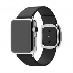 Apple Watch Bracelet 42mm en Cuir avec adaptateur fermoir magnétique