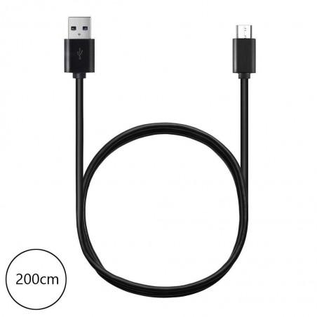 Câble 200cm USB 2.0 Type C Huawei p9, mate 9, Honor 8, Macbook 12, Nokia N1, OnePlus 2, Google Nexus 5X/6p