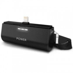 iPhone 5/6/7 - Powerbank station d'accueil chargeur de batterie externe 3000mAh