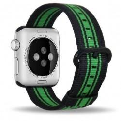 Apple Watch 42mm - Bracelet toile nylon avec adaptateur