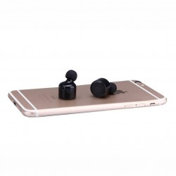 In-Ear-Bluetooth 4.1 écoueurs sans fil anti bruit Appel Kit Main Libre pour Wiko, iPhone, iPod, MacBook et Android Système