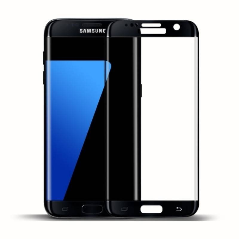S7 edge-protection plein écran en verre trempé-schwarz