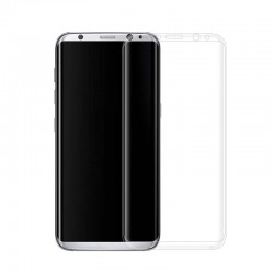 Galaxy S8 -protection plein écran en verre trempé-transparent