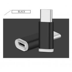 Micro USB vers USB 3.1 type C USB mâle Adaptateur de Données pour huawei mate 9, honor 8 - 2 Packs