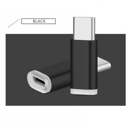 Kit 2 Adaptateurs de Données Micro USB vers USB 3.1 type C USB mâle - 2 Packs