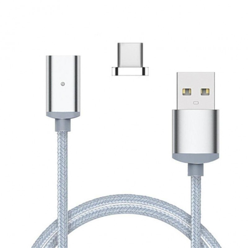 Chargeur USB Magnétique Cordon Sync Data Cable Type-C USB Pour Samsung S8 Huawei P10 mate 9 honor 8