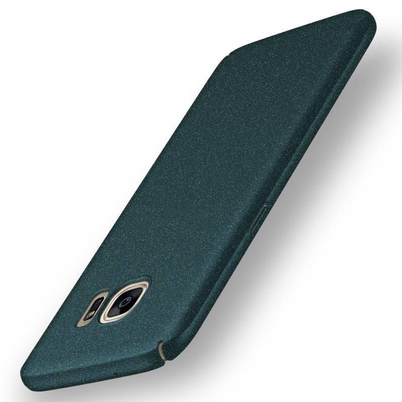 Samsung galaxy S7 edge - coque rigide mate Grün anti choc
