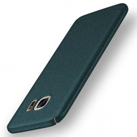 Samsung galaxy S7 edge- coque rigide mate verte anti choc