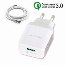 Quick charge 3.0 chargeur secteur USB 3.0