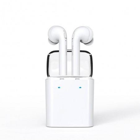 Dacom7 Bluetooth Headset Blanc Oreillette Bluetooth sans fil
