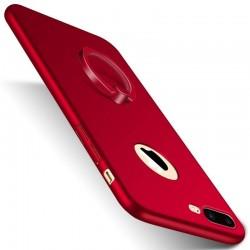iphone 5/5s-étui cuir brillant support portefeuille