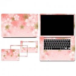Feuilles de protection PVC Autocollant amovible pour Macbook 13Air ou 13 rétina - Fleur