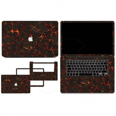 Feuilles de protection PVC Autocollant amovible pour Macbook 13Air ou 13 rétina