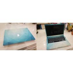 Feuilles de protection PVC Autocollant amovible pour Macbook 13Air ou 13 rétina - Vulkan