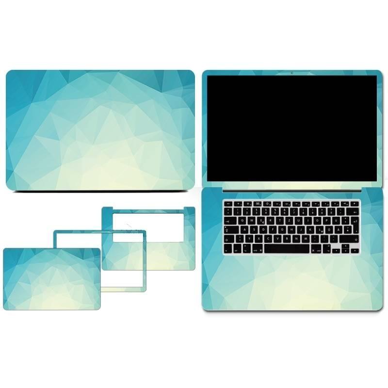 Feuilles de protection PVC Autocollant amovible pour Macbook 13Air ou 13 rétina - Volcan
