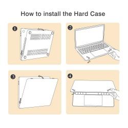 """MacBook 13,3"""" Pro A1706 /A1708 - weiss case"""