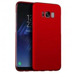 Samsung galaxy S7 - coque rigide mate rouge anti choc