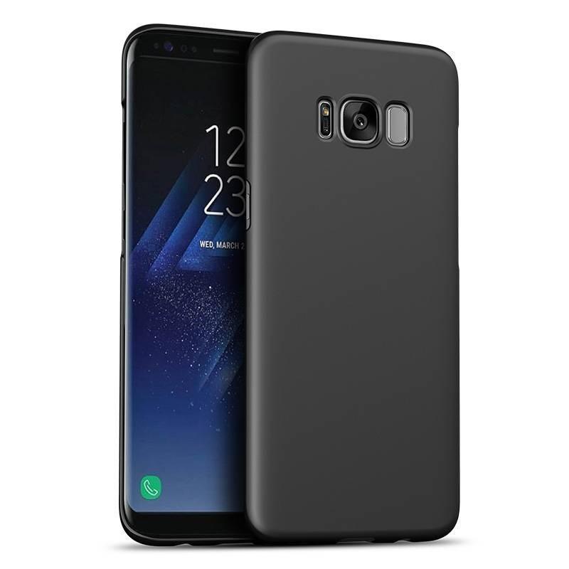 Samsung galaxy S8(plus) - coque rigide mate noir anti choc