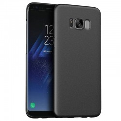 Samsung galaxy S8(plus) - coque rigide mate brune anti choc