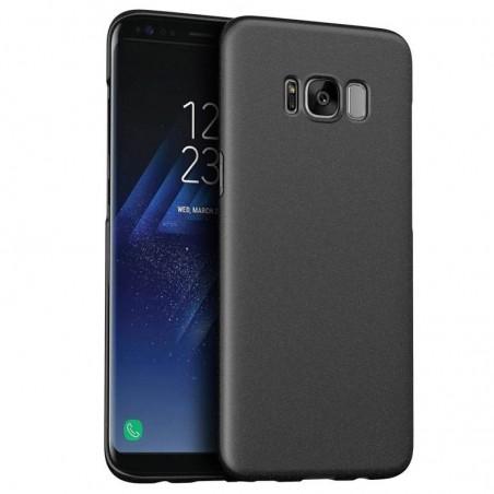 Samsung galaxy S8(plus) - coque rigide mate brune anti choc