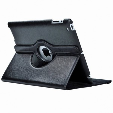 iPad 9.7 2017 - étui support rotatif Noir