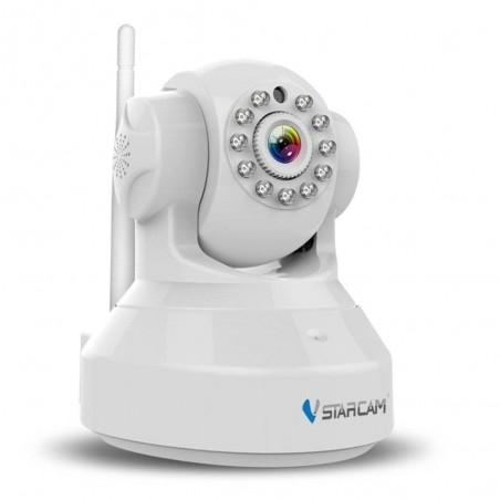 Vstarcam Caméra IP 720P HD Caméra de Surveillance Sans-Fil WiFi nocture - Blanc