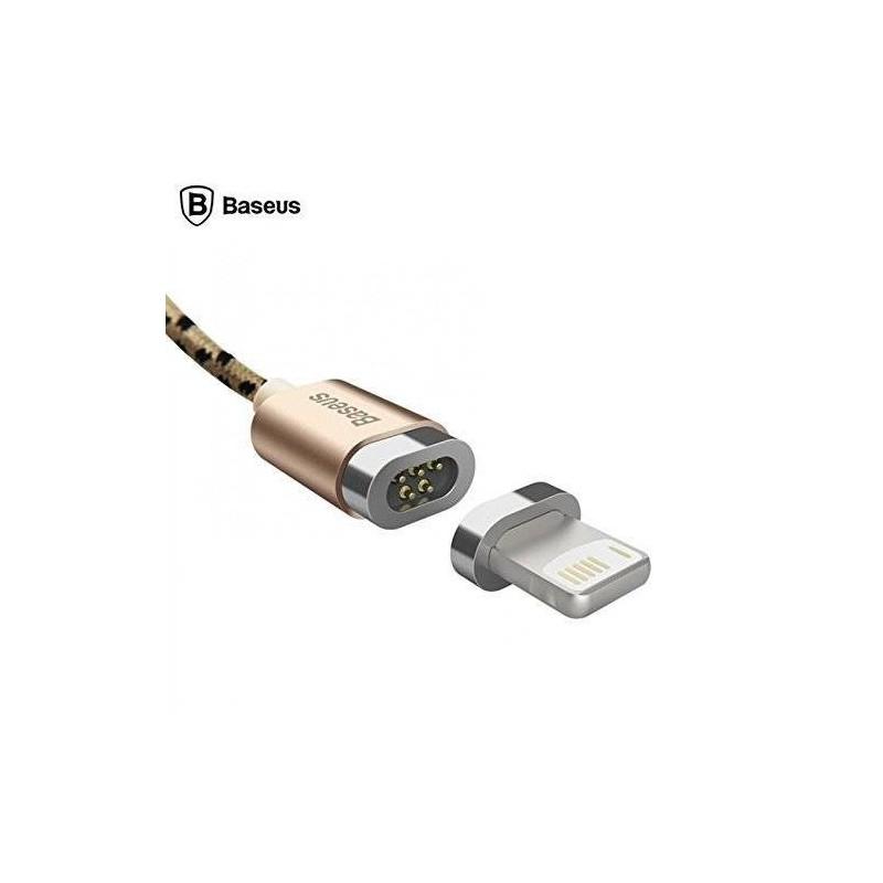 Câble Lightning Magnétique BASEUS cable iPhone 7/6/5 tissu tressé