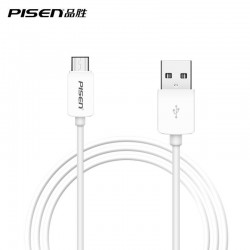 Cable USB PISEN Type C vers USB 2.0 1M Cable USB C