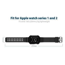 protection solide für Apple Watch 42mm - Schwarz