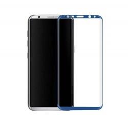 Galaxy S8 plus- protection plein écran en verre trempé-Noir