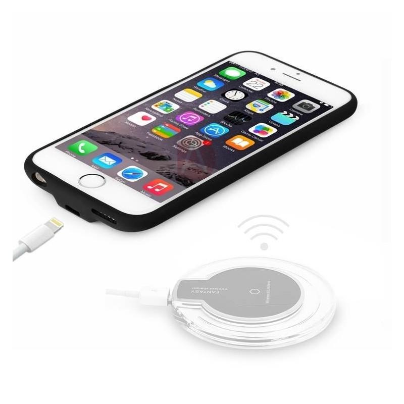 Coque iPhone 6S et 6 de chargement à induction pour chargeur sans fil (technologie QI)