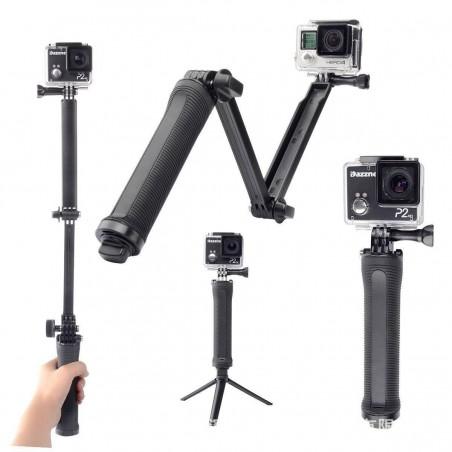 Selfie Stick réglable avec trépied pour GoPro