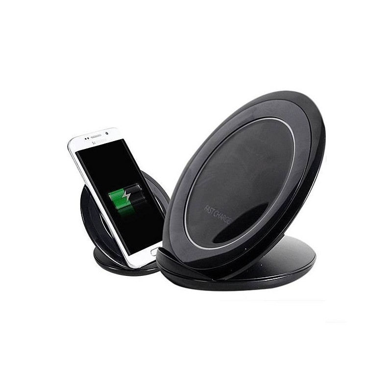 Chargeur QI rapide à induction pour Galaxy S7/S7 Edge/S8 plus/S8