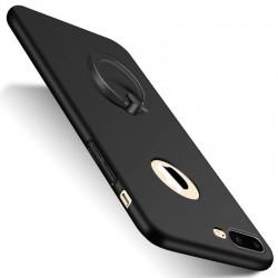 iphone 7(plus)/6(plus) - Coque rigide avec anneau de support - Rouge