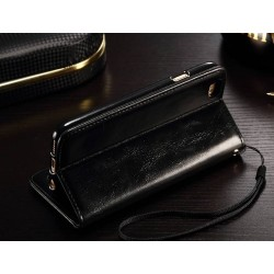 Etui portefeuille magnétique iphone 8