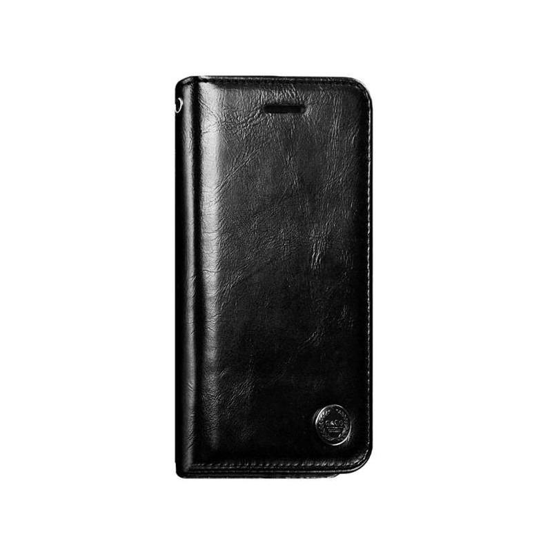 iPhone 8 -Etui portefeuille support simili cuir souple fermeture magnétique
