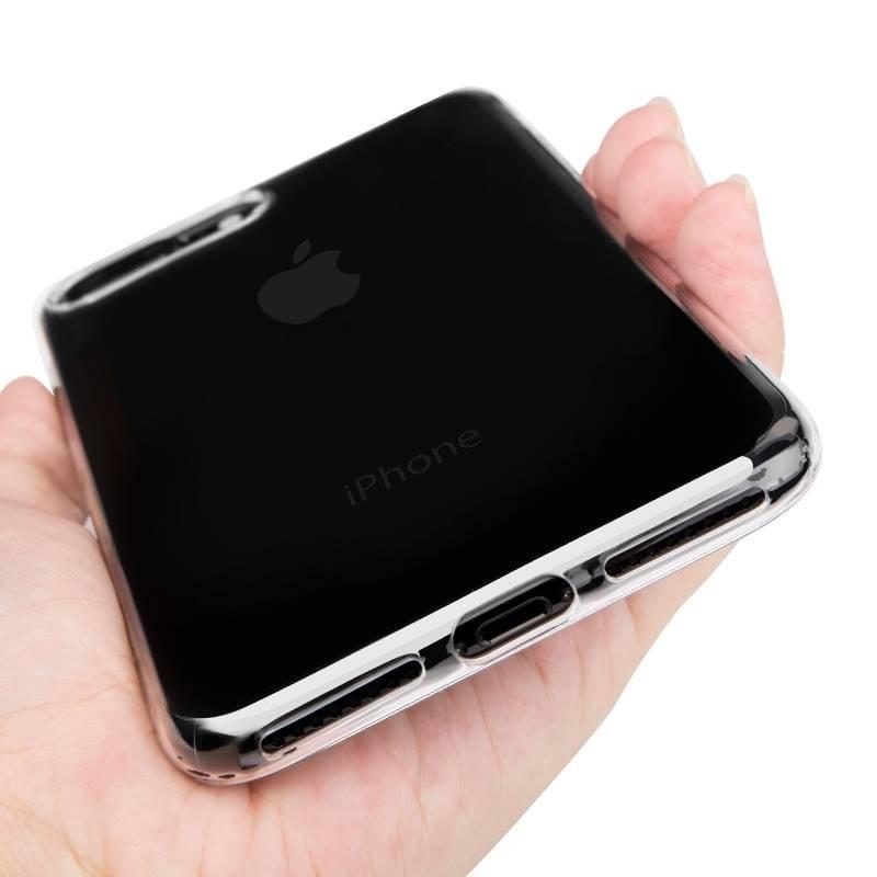 iPhone 8 plus - Coque en TPU transparente