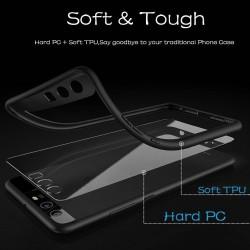 Coque souple Ipaky en TPU/PC antichute pour iphone 8 plus/7 plus - Blanc