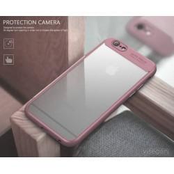 Coque souple Ipaky en TPU/PC antichute pour iphone 8 plus/7 plus - Rose